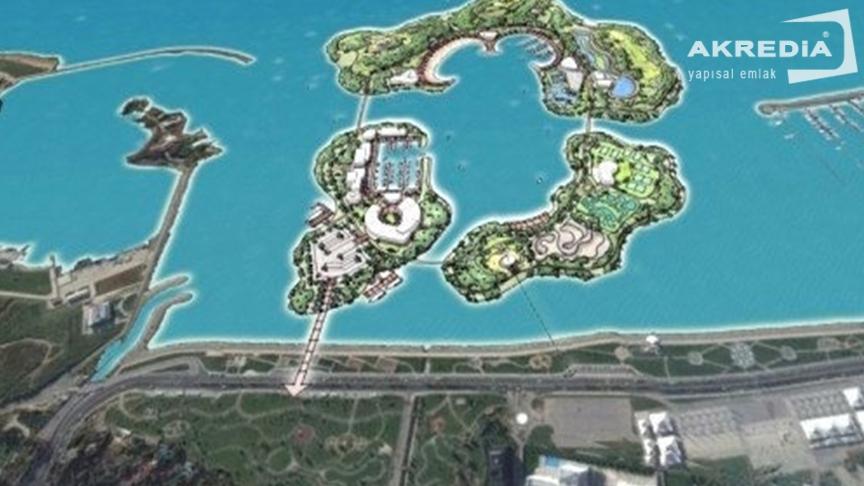 İstanbul'da 3 yeni turist adaları oluşturma