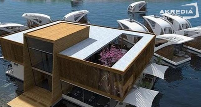 Turizme çılgın proje! Fırat Nehri üzerine yüzen oteller yapılacak