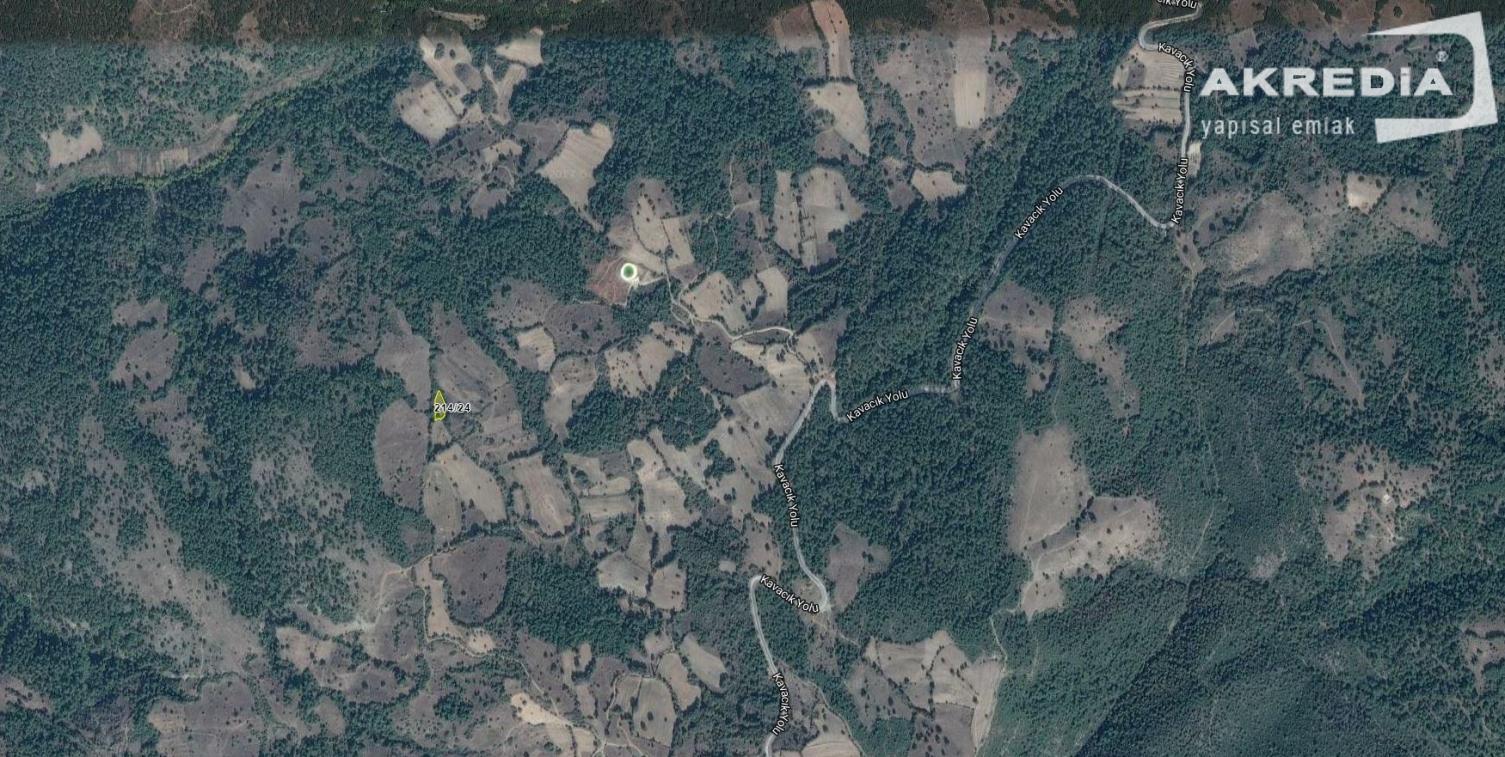 Balıkesir Dursunbey'de Satılık 1 Dönüm Yatırımlık Ucuz Arazi